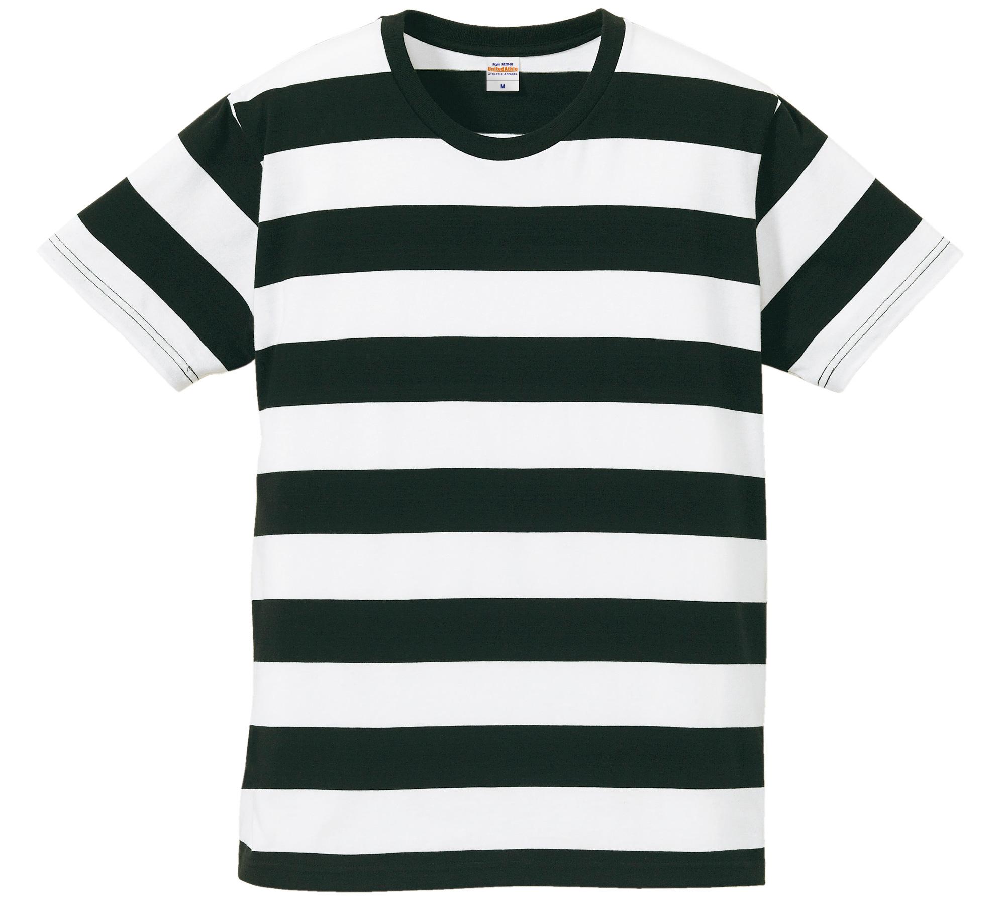 5.0オンス ボールドボーダー ショートスリーブ Tシャツ